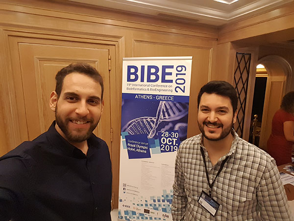 Panos A. Bonotis and Christos Maramis at the BIBE2019 event in Athens